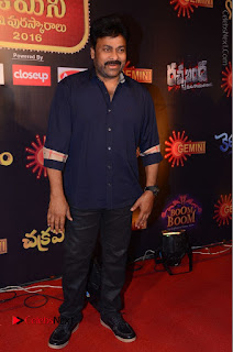 Chiranjeevi Stills at Gemini TV Puraskaralu Event  0015.JPG