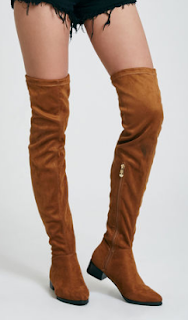 wet seal faux suede over-the-knee boots