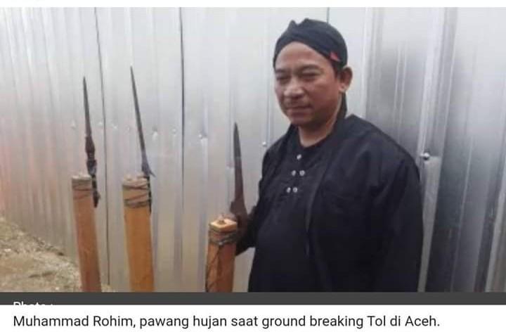 Innalillahi... Inikah Ritual Syirik Saat Presiden Jokowi Kunjungi Aceh?