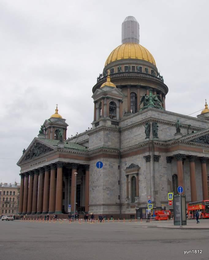 Южный и западный портики собора