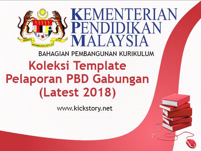 Koleksi Templat Pelaporan Pbd Gabungan 2019
