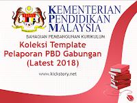 Koleksi Templat Pelaporan PBD Gabungan (Latest 2018)