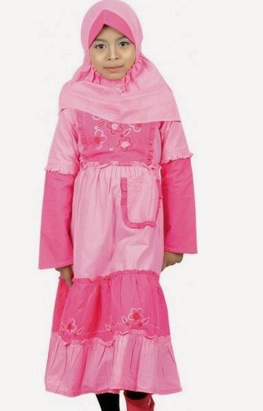 Contoh Baju Muslim Anak Terbaru 2015