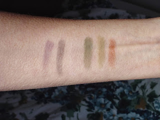 Red Apple Lipstick Company's Fall/Winter 2013 Eye Shadow swatches.jpeg
