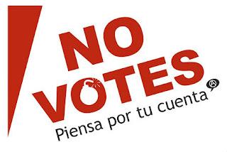¿Por qué será que yo no voto? 19 razones para no votar