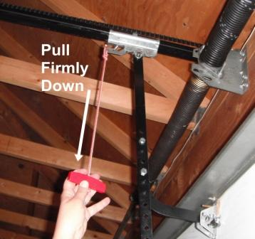 How To Close The Garage Door Manually