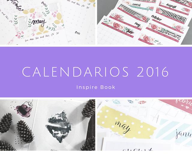 Calendarios 2016! - My Inspire Book