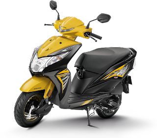 Best scooty in india, honda dio