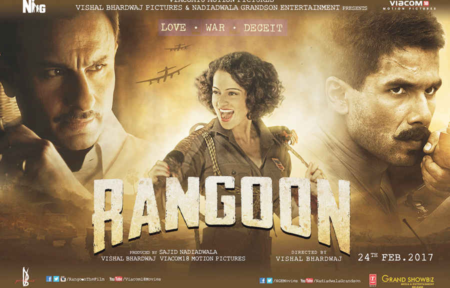 Rangoon (2017) Hindi 720p DTHRip 1.2GB