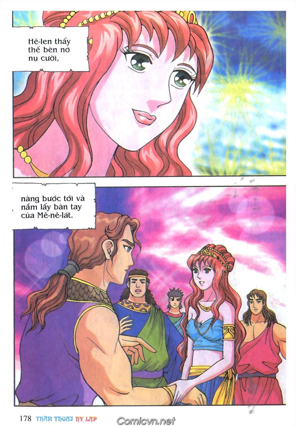 Thần Thoại Hy Lạp Màu - Chapter 51: Nàng công chúa Helen - Pic 17