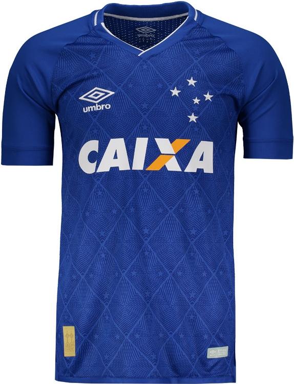 Camisa do Cruzeiro é eleita a mais bonita da América do Sul - Show ... 2490d808359a5