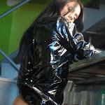 Andrea Rincon, Selena Spice Galeria 5 : Vestido De Latex Negro Foto 134