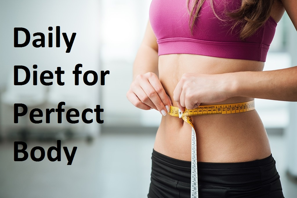 Daily Diet for Perfect Body