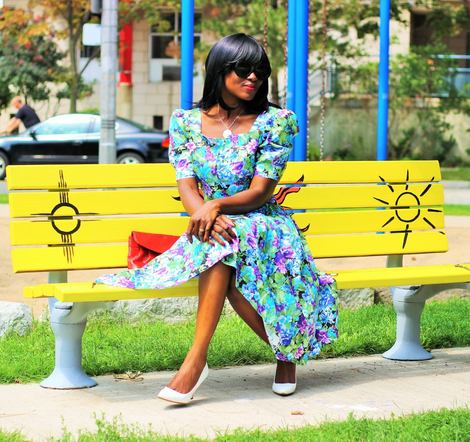 Vintage Style Dress By Mode Madison e-Boutique
