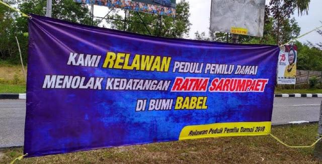 Bahas Ganti Presiden, Diskusi Ratna Sarumpaet di Bangka Belitung Ditolak