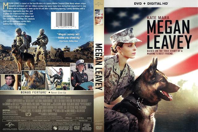 Megan Leavey DVD Cover