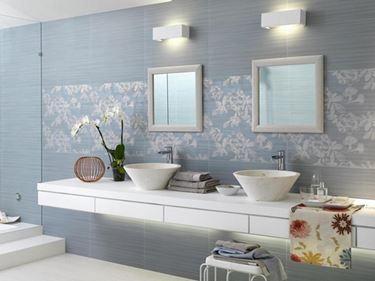 Arredamento e dintorni piastrelle bagno - Idee bagno rivestimenti ...