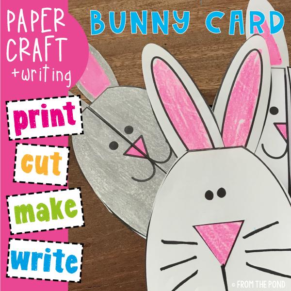 Easy Easter Card For Kids