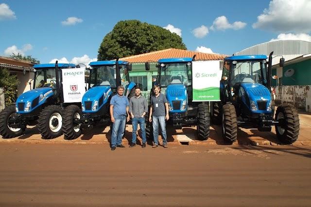 Programa Trator Solidário continua modernizando a agricultura de Rancho Alegre D´oeste