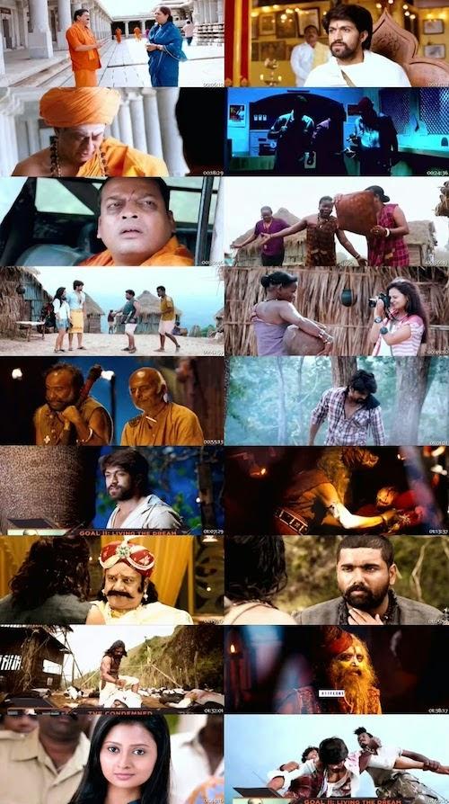 The Big Lion Gajakesari (2015) Hindi Dubbed HDTV 700mb