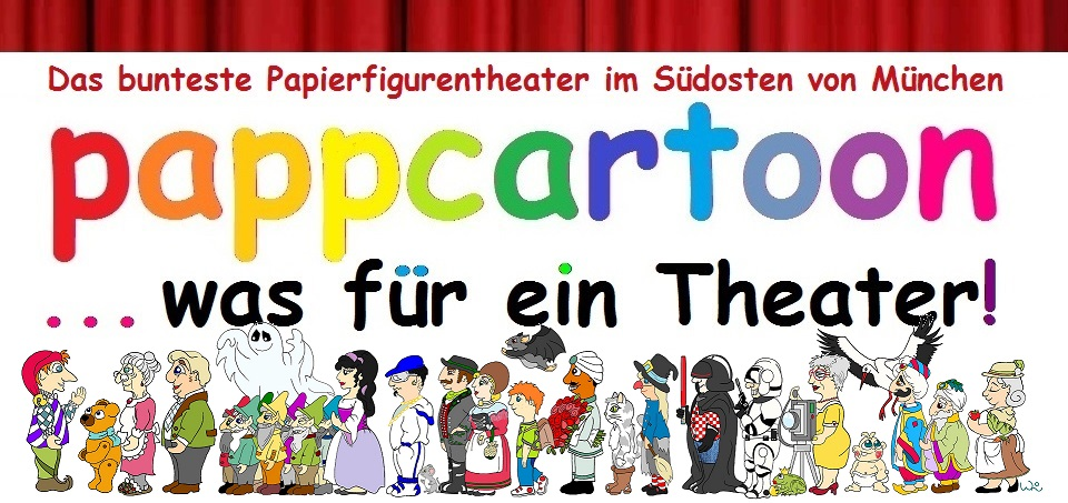 Pappcartoon - was für ein Theater!