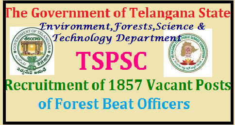 TSPSC 1857 Forest Beat Officer Recruitment Notification 2017 - Apply Online @ www.tspsc.gov.in | Telangana State Public Service Commission (TSPSC) FBO Recruitment 2017 | TSPSC Forest Beat Officers Recruitmnet Notification Download Important Dates Syllabus Scheme of Examination Apply Online Hall Tickets Answer Key Results Aspirants and Eligible Candidates from Telangana State may Fill Online Application Form for the post of FBO Forest Beat Officers in Telangana Forest Department for 1857 Vacancy Posts telangana-tspsc-forest-beat-officer-forest-range-officers-section-officers-recruitment-FBO-FRO-FSO-notification-apply-online-vacancies-examination-dates-eligibility-syllabus-hall-tickets-answer-key-results-download/2017/08/telangana-tspsc-forest-beat-officer-forest-range-officers-section-officers-recruitment-FBO-FRO-FSO-notification-apply-online-vacancies-examination-dates-eligibility-syllabus-hall-tickets-answer-key-results-download.html