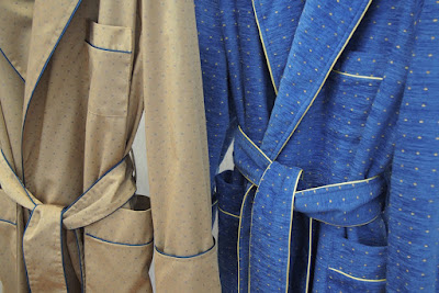 long shawl collar classic dressing gowns mens robe gold navy blue royal satin piped fully lined loungewear luxury