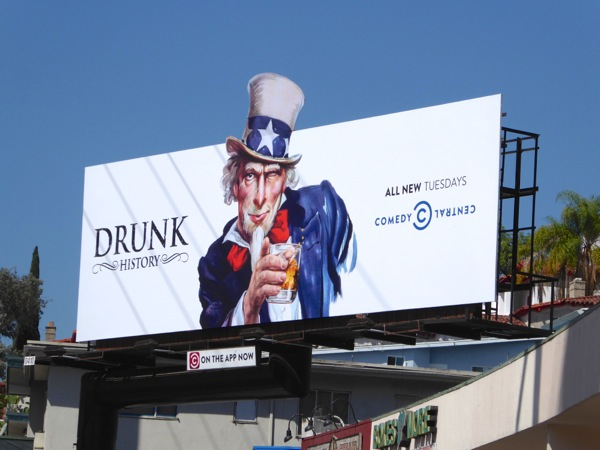Drunk History season 3 Uncle Sam billboard