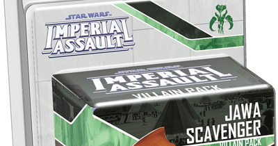 Star Wars Imperial Assault Jawa Scavenger Villain Pack unboxing and reveiw
