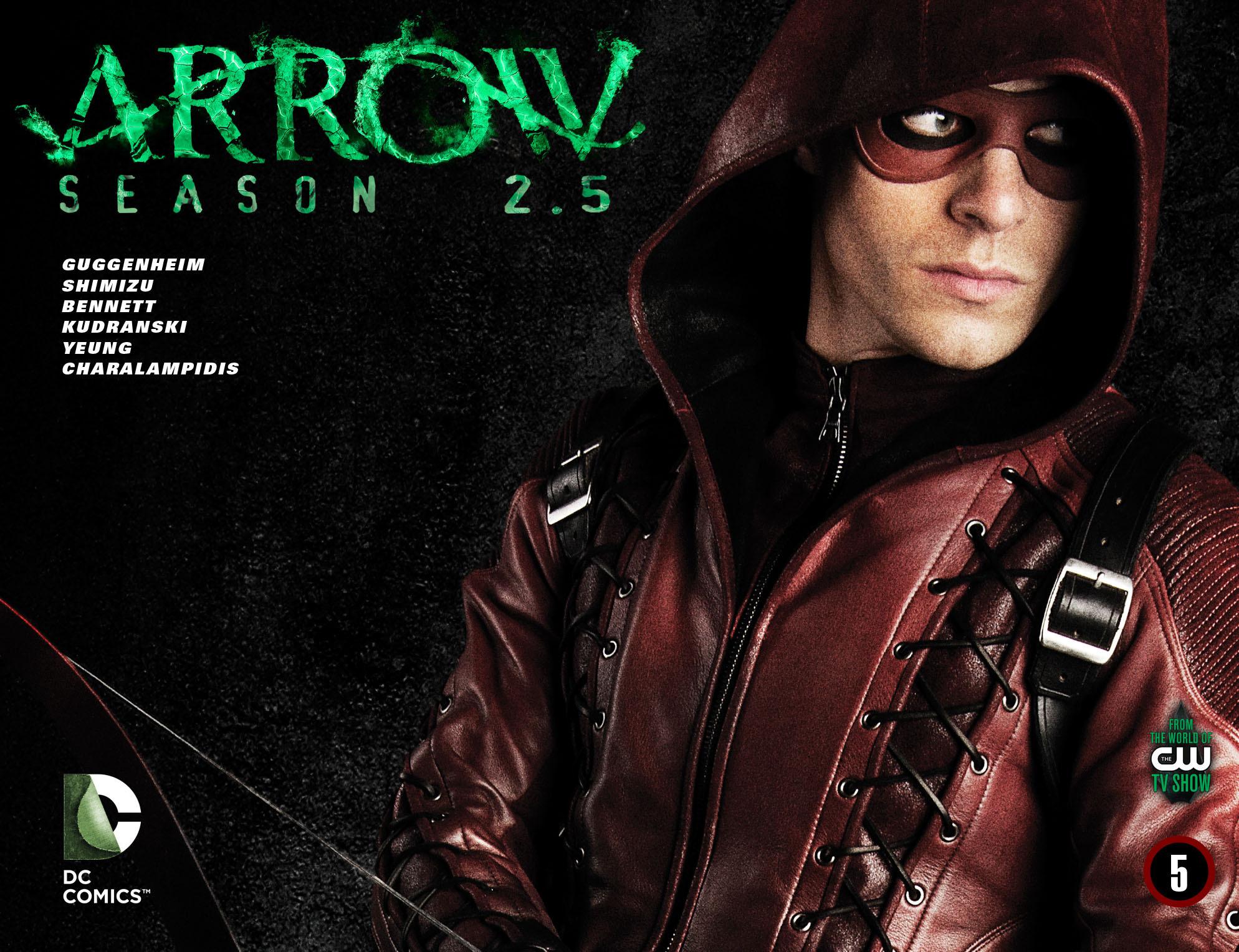 Read online Arrow: Season 2.5 [I] comic -  Issue #5 - 1
