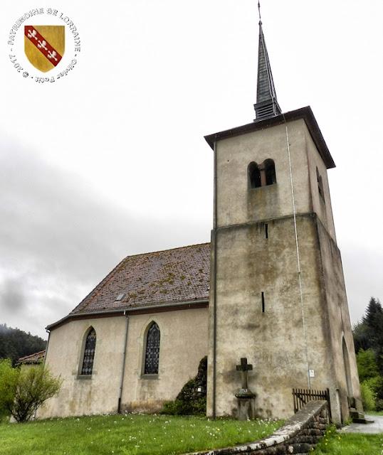 LAFRIMBOLLE (57) - Eglise Saint-Michel (XIIe-XIXe siècles)