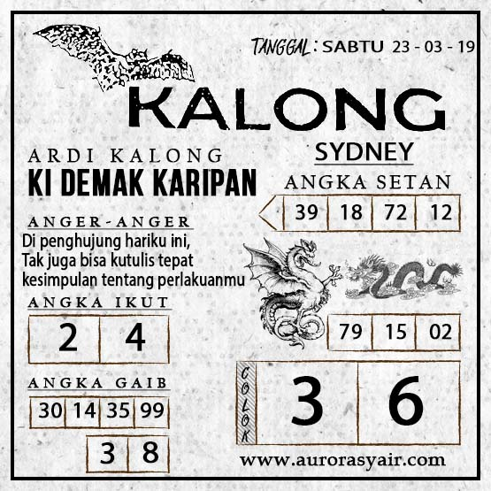This image has an empty alt attribute; its file name is Syair%2BKalong%2BSyd.jpg