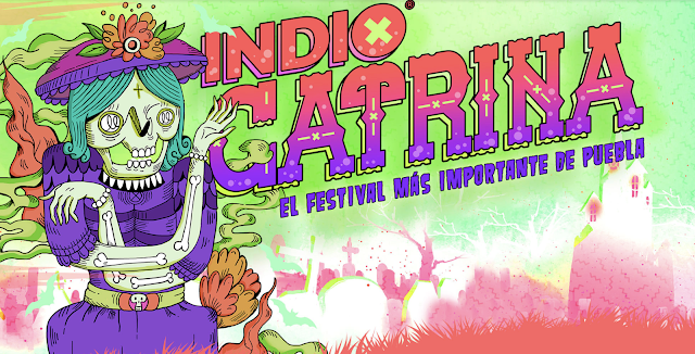 Festival Catrina 2018: El festival más importante de Puebla