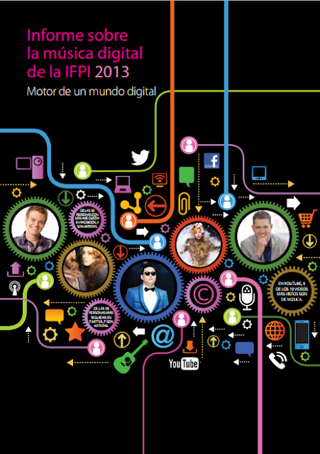 Este es el reporte de la IFPI (International Federation of the Phonographic Industry) sobre la música digital en el año 2013
