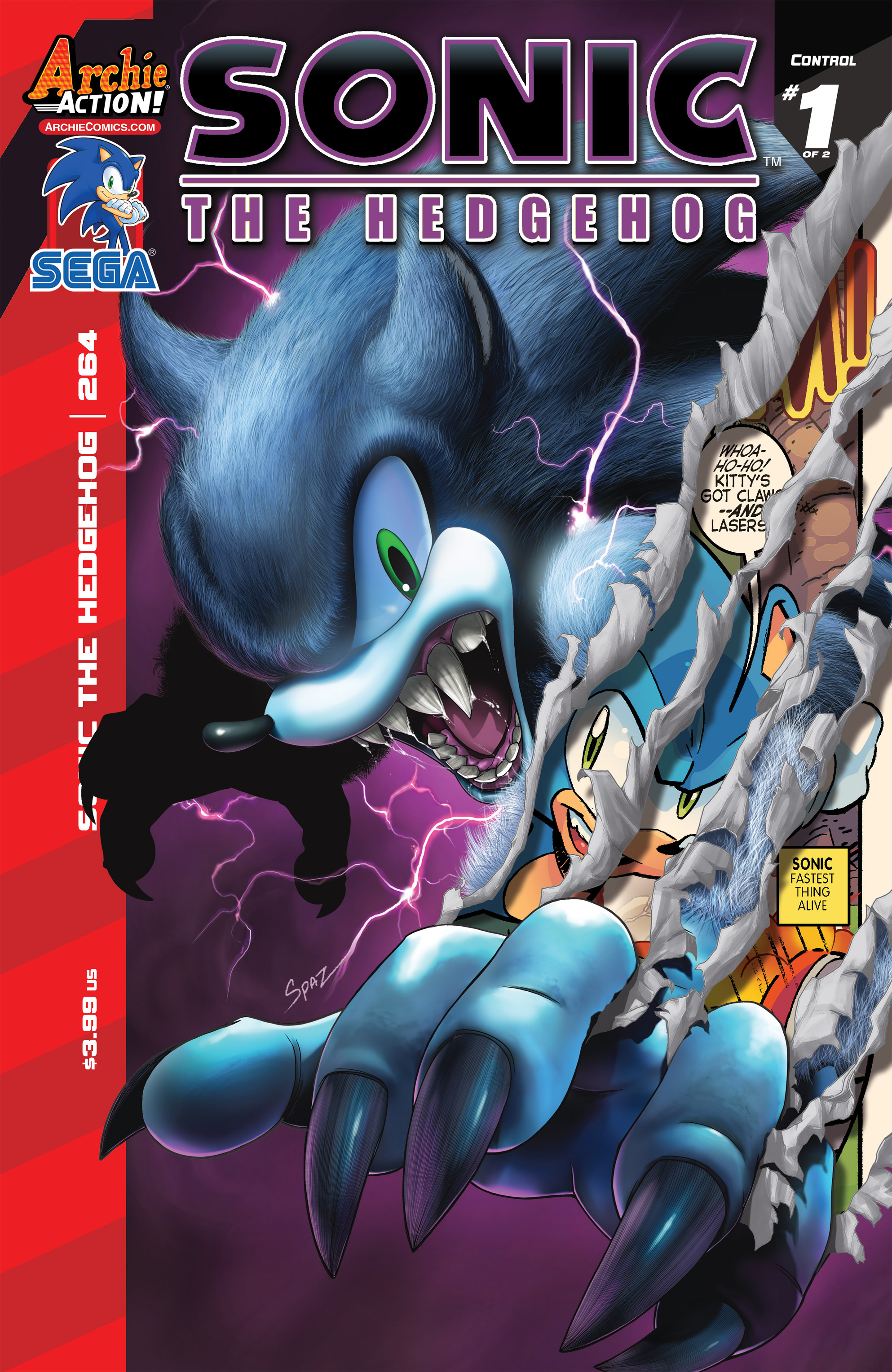 Read online Sonic The Hedgehog comic -  Issue #264 - 1