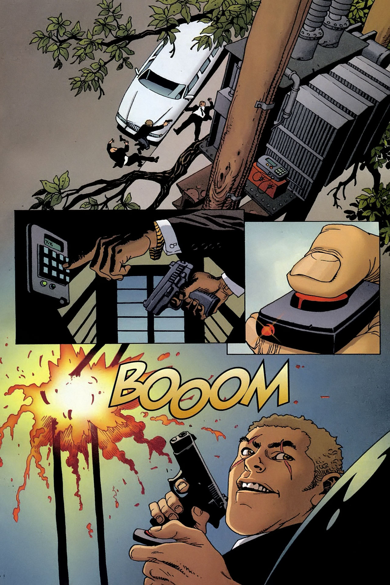 Read online 100 Bullets comic -  Issue #93 - 16