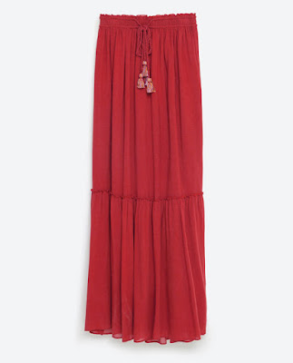 Zara TRF Flowing Skirt