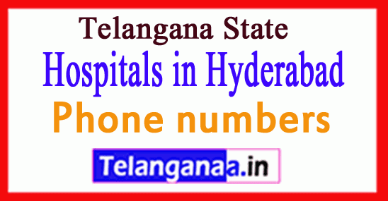 Hospitals in Hyderabad Telangana