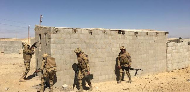 البيان الثالث عشر للقوات المسلحة للعملية الشاملة سيناء 2018