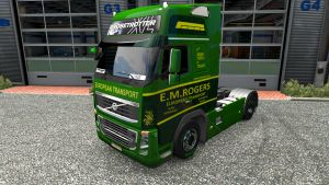 E.M.Rogers skin for Volvo 2009
