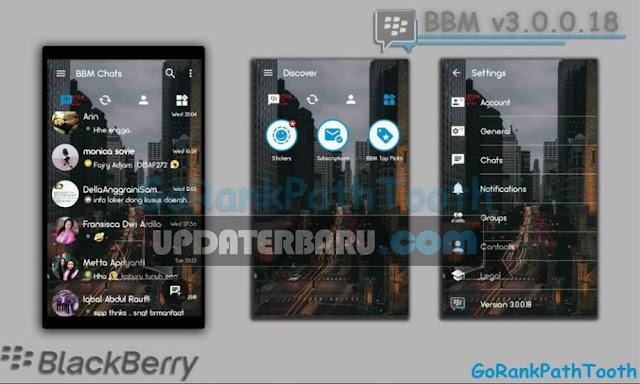 download BBM Mod GRPT Transparent Theme v3.0.0.18 Apk Versi Terbaru