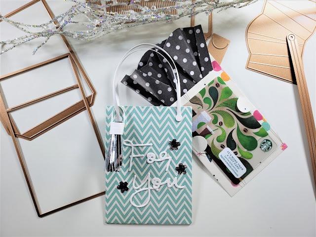 Spellbinders April 2019 Large Die Kit of the Month | Bag w/Gift Card Holder