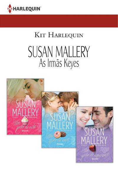 Kit As Irmãs Keyes - Trilogia Completa - Susan Mallery