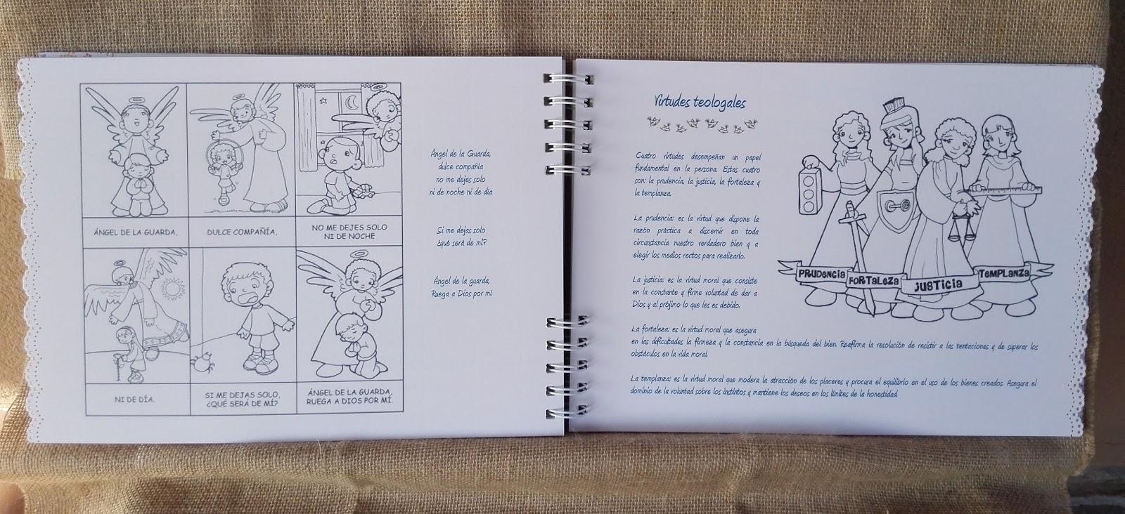 Cuaderno de recuerdos de Primera Comunión - El rincón de Coral