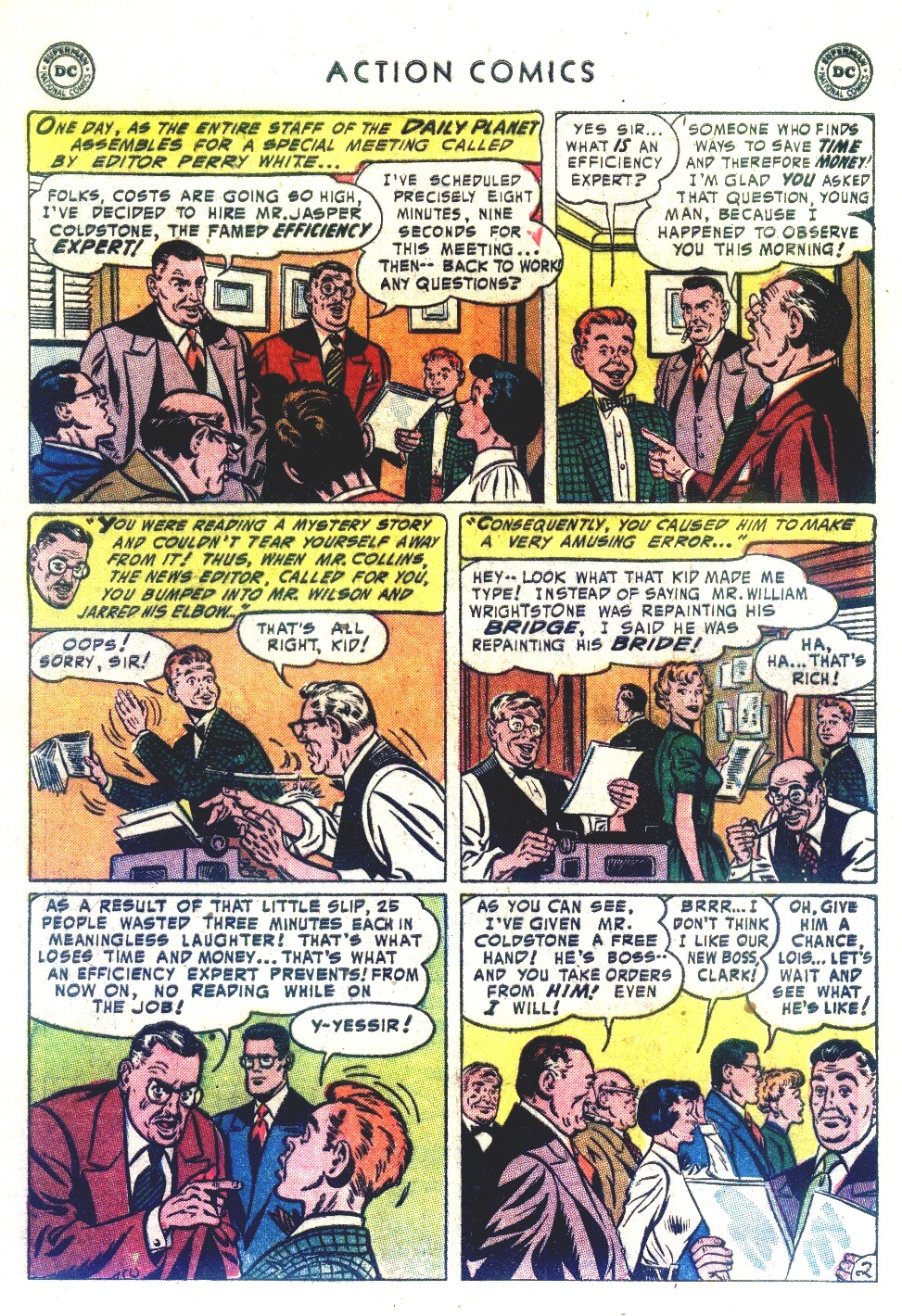 Read online Action Comics (1938) comic -  Issue #192 - 4