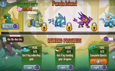 Ilha Panda - Itens e Dicas