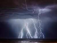 Lightning  over Western Australia