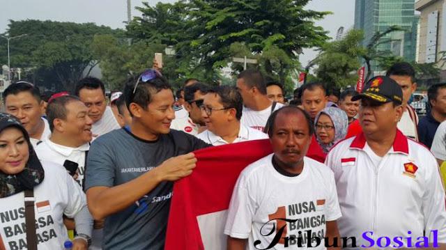 Prabowo, Fadli Zon, dan Sandiaga Sambut Eko Hadi Bak Pahlawan, Siapa Dia?