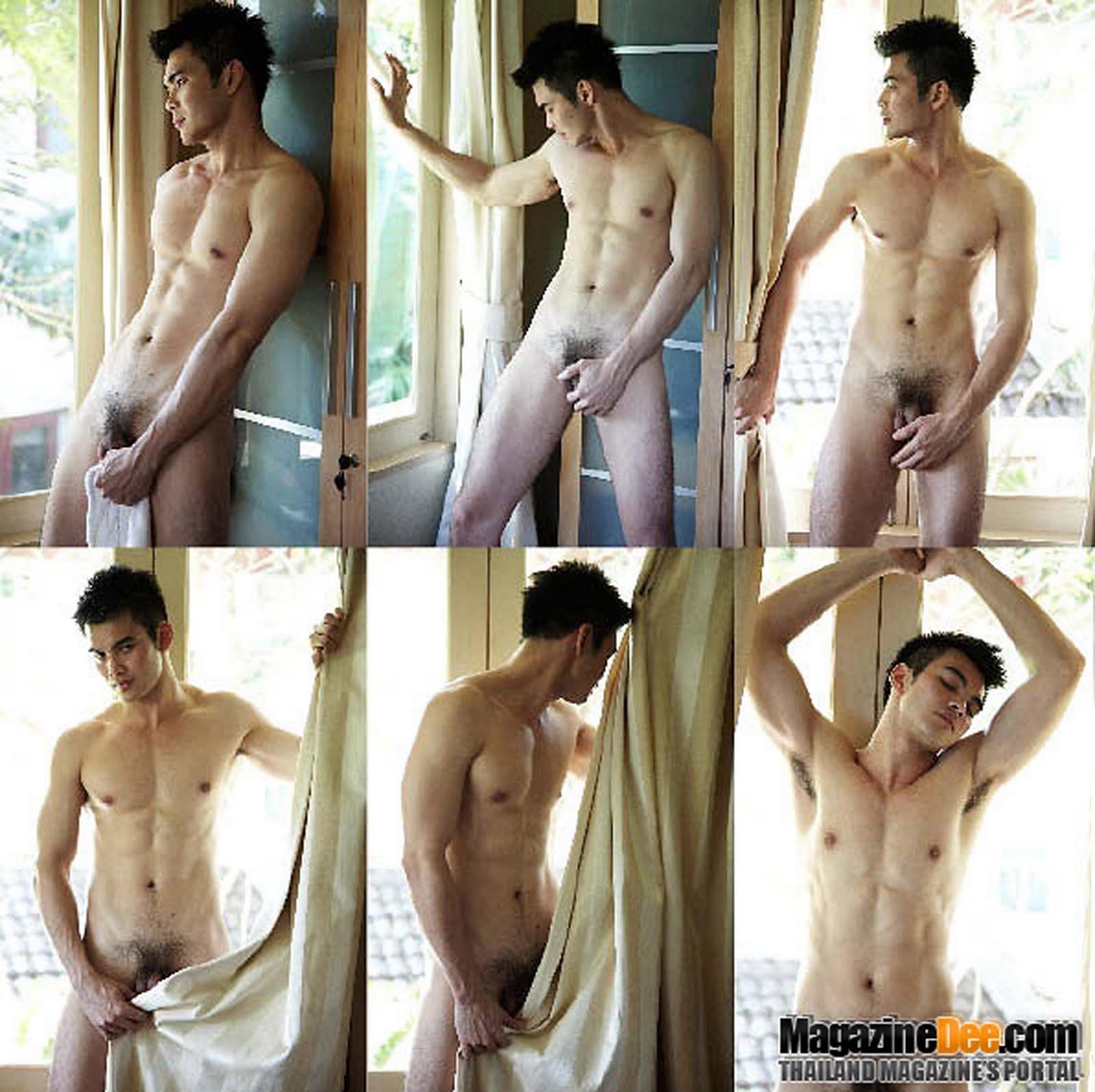 Hot Thai Male Model Nude