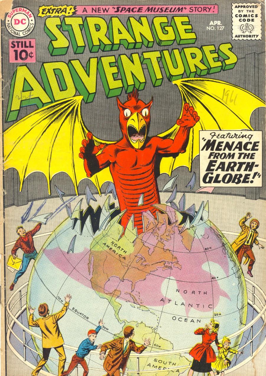 Strange Adventures (1950) issue 127 - Page 1